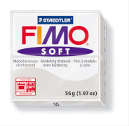 STAEDTLER FIMO soft 8020 - Materialpack á 57 g, delphingrau