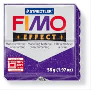 FIMO glitter lila soft effect