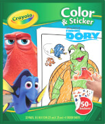 Vivid  Crayola Findet Dory Color & Stickerbook