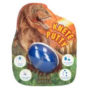 Depesche 6417 Dino World Spring Knete im Ei mit Flashk
