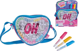 Simba Color Me Mine - Handtasche ''Swap Heart Bag'' inkl. 3 Stifte, ca. 18 cm, ab 6 Jahre