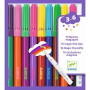 Farben: 10 magische Filzstifte