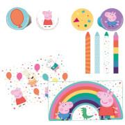 Schreibset Peppa Pig Plastik / Papier / Stifte 24-teilig