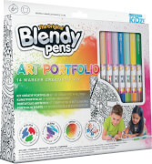 Blendypens Art Portfolio 14 Color Kit
