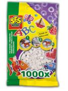 Bügelperlen 1.000 Stck. weiss