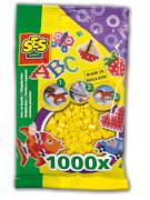 Bügelperlen 1.000 Stck. gelb