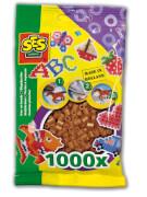 Bügelperlen 1.000 Stck. braun