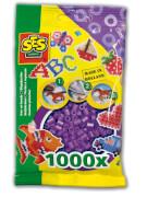 Bügelperlen 1.000 Stck. violett