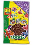 Bügelperlen 1.000 Stck. dunkelbraun