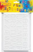 Hama® Bügelperlen Midi - Stiftplatten im Beutel - Buchstaben, Zahlen