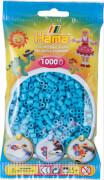 Hama® Bügelperlen Midi - Azur Blau 1000 Perlen