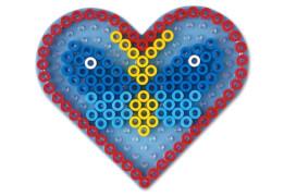 HAMA Maxi Stiftplatte Herz