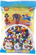 Perlen-Btl. 3000 Stck., Vollton-Mix (10 F)
