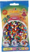 Perlentbtl. 1000 St. 48-Farben-Mix