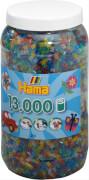 Dose mit 13000 Perlen, Glittermix