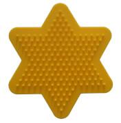 Hama® Stiftplatte kleiner Stern, gelb