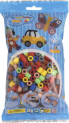Maxi-Perlen im Btl. Vollton-Mix (7 Farben)