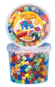 Maxi-Perlen Dose, Vollton-Mix (7 Farben)