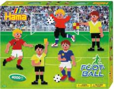 Hama® Bügelperlen Midi - Geschenkpackung Fußball - 2 Stiftplatten