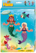 Hama® kleine Geschenkpackung Meerjungfrauen, 2.000 Stück