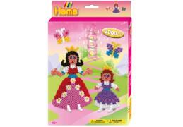 Hama® kleine Geschenkpackung Prinzessinnen, 2.000 Stück