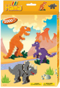 Hama® kleine Geschenkpackung Dino Welt, 2.000 Stück
