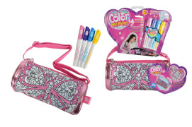 Color me Mine -Diamond Party Roll Bag