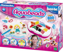 Aquabeads 31399 Starter Set Blau 840 Perlen