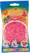 Hama® Bügelperlen Midi - Transparent Pink 1000 Perlen