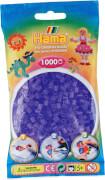 Hama® Bügelperlen Midi - Transparent Flieder 1000 Perlen