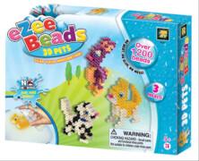Beluga Spielwaren 6241 - eZee Beads 1200 3D Tiere, ab 4 Jahren
