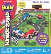 Spin Master Kinetic Sand Build Crash 'Em Cars 340 g