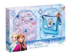 Disney Frozen - Die Eiskönigin 2in1 Cratvitiy Set, enthält Umhängetasche