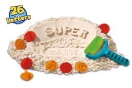 Goliath 83237 Super Sand Koffer ABC 560 g