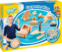 Totum Carpenter King - Holz und Hammer Set