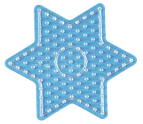 Maxi-Perlen Stiftplatte Stern