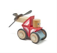 Tegu - Magnetisches Holzset Skyhook 17 Teile