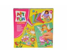Art & Fun Folienmosaik Blume & Fee