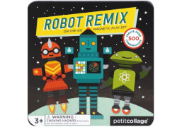 Petitcollage - Magnetspiel on the go Roboter