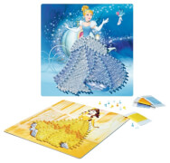 Ravensburger 180301 String it midi Disney Princess, Fadenkunst