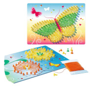 Ravensburger 18034 String it mini Schmetterlinge