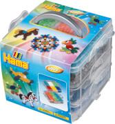 Hama® Aufbewahrungsbox klein mit 6.000 Perlen und 3 Stiftplatten
