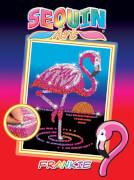 Sequin Art Red - Flamingo