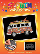 Sequin Art Orange - Wohnmobil