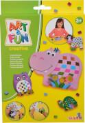 Art & Fun Papier flechten Tiere