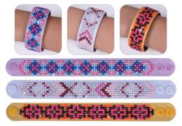 Diamond Dotz Armband 3er Set geometrische Muster