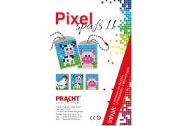 Pixel Spaß 11 Medaillon Huhn, Kuh, Schwein