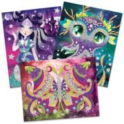 Nebulous Stars Glitzer- und Folien Kunst