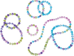 Art & Fun Snap Beads in Marble-Color, 2-s.