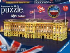 Ravensburger 12529 Puzzle 3D Buckingham Palace bei Nacht 216 Teile